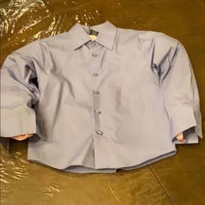DOCKERS BOYS BUTTON UP SHIRT SIZE 6